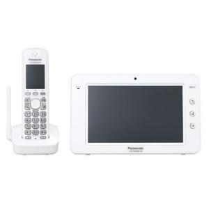 パナソニック ホームスマートフォン カラーモニター子機付 VS-HSP200S-W ホワイト 【送料無料(沖縄県を除く)】|yz-office
