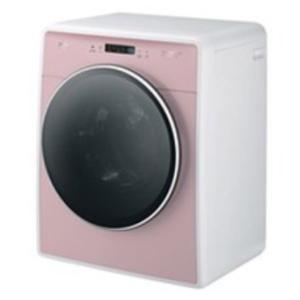 DAEWOO ミニ ドラム式全自動洗濯機 左開き 3.0kg DW-D30A-P ピンク 送料無料(沖縄県・離島へは発送不可)の画像