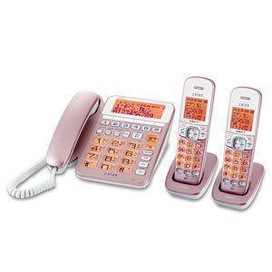 ユニデン DECT方式コードレス留守番電話機 子機2台タイプ DECT2588-2(SP) シェルピンク 【送料無料(沖縄県を除く)】|yz-office