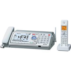 SHARP デジタルコードレスファクシミリ 子機1台付 SDカード対応 UX-D90CL シルバー 【送料無料(沖縄県を除く)】|yz-office