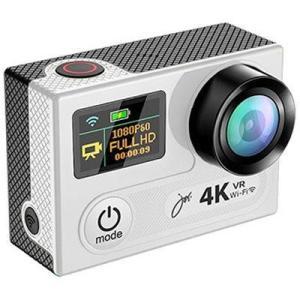 JOYEUX 4K-WiFi1080P アクションカメラSUPER PRO SVC600SV シルバー 【送料無料(沖縄県を除く)】|yz-office