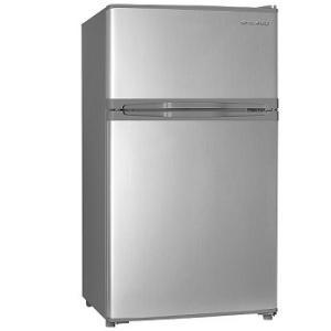 DAEWOO 85L 2ドア 冷凍冷蔵庫 DR-T90FS シルバー 送料無料(沖縄県・離島へは発送不可)(代引き不可)|yz-office