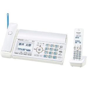 Panasonic デジタルコードレスFAX 子機1台付き KX-PD552DL-W ホワイト 送料無料(沖縄県を除く)|yz-office