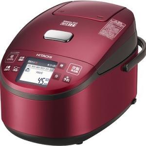 日立 IHジャー炊飯器 1升炊き 蒸気カット 極上炊き 圧力・スチーム RZ-VV180M-R レッド 【送料無料(沖縄県を除く)】|yz-office