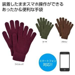 タッチグローブ 1双 2370691 タッチパネル対応 手袋 yzshop2017