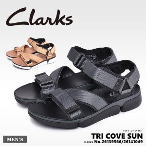 CLARKS クラークス サンダル トライ コーヴ サン TRI COVE SUN 26139566 41049 メンズ スポーツサンダル スポサン|z-craft