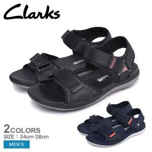CLARKS クラークス サンダル ステップ ビート サン 26140269 26141463 メンズ スポーツサンダル スポサン ベルト|z-craft