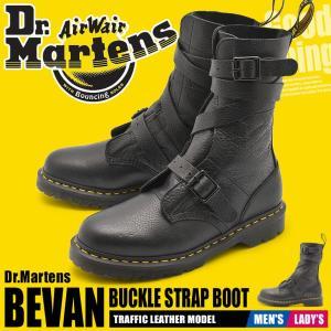 DR.MARTENS ドクターマーチン メンズ レディース ブーツ ビーヴァン バックル ストラップ ブーツ 23693001|z-craft