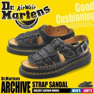 ドクターマーチン サンダル 8092 DR.MARTENS アーカイブ 24830001 メンズ レディース 靴 本革 レザー ストラップ ヴィンテージ 黒|z-craft