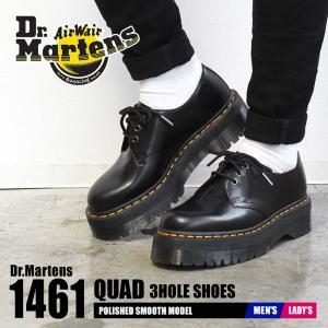 ドクターマーチン レースアップシューズ メンズ レディース 1461 クアッド DR.MARTENS 25567001 ブラック 黒 靴 シューズ 人気|z-craft