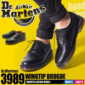 ドクターマーチン Dr.Martens 10ホール ウィングチップ シューズ メンズ 革靴