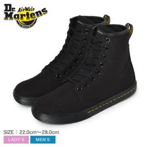 ドクターマーチン スニーカー メンズ レディース シェリダン DR.MARTENS 23858001 ハイカット ブラック 黒 靴 シューズ カジュアル|z-craft