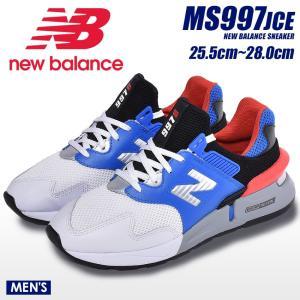 ニューバランス NEW BALANCE スニーカー MS997J MS997JCE メンズ 靴 シューズ 白 青 NB|z-craft