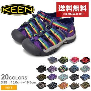 KEEN キーン スポーツサンダル ニューポート H2 チルドレン キッズ ジュニア 子供用 子供靴 アウトドア