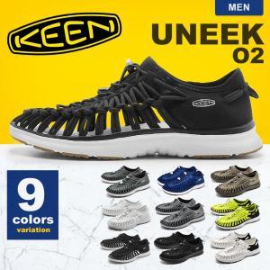 キーン KEEN スポーツサンダル ユニーク O2 UNEEK O2 アウトドア 川 レジャー 靴 ...