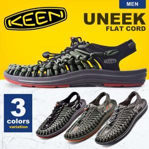 KEEN キーン サンダル ユニーク フラットコード 1016899 1016901 1014974 メンズ