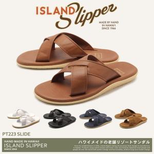 ISLAND SLIPPER アイランドスリッパ サンダル スライド SLIDE PT223 メンズ ビーチサンダル|z-craft