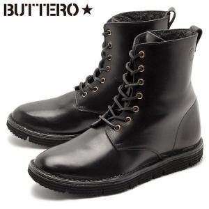 ブッテロ BUTTERO セラ レースアップ プレーントゥ レザーブーツ メンズ 革靴|z-craft