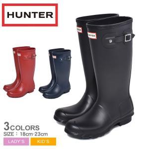 (ポイント10%) ハンター HUNTER レインブーツ 長靴 レディース キッズ ORIGINAL...