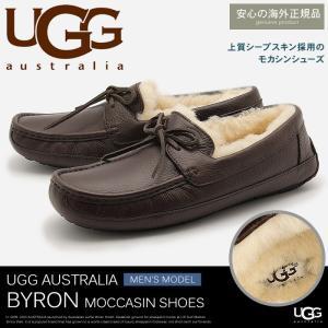 アグ オーストラリア UGG AUSTRALIA スリッポン モカシン バイロン メンズ z-craft