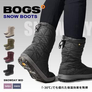 BOGS ボグス スノーブーツ メンズ レディース スノーデイ ミッド SNOWDAY MID 72238|z-craft