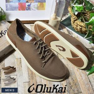 (ポイント15倍) OLUKAI オルカイ スニーカー マノア MANOA 10331 メンズ ハワイ ブランド シンプル シューズ 靴|z-craft