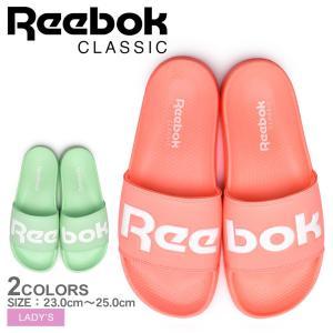 ■ITEM REEBOKより「リーボッククラシック スライド」です。 ブランドのロゴをワントーンカラ...