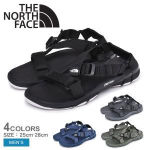 ノースフェイス スポーツサンダル メンズ ウルトラ ストレイタム プロ NF51920 黒 緑 青 靴 ノースフェース アウトドア 川 海 NORTH FACE|z-craft