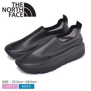 ノースフェイス メンズ レディース アプレ モック NF51941 ブラック 黒 靴 シューズ スリッポン 防水 アウトドア レイン 雨 NORTH FACE|z-craft