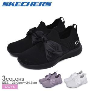 (15%以上OFF) SKECHERS スケッチャーズ スニーカー レディース BOBS SQUAD 2-BOW BEAUTY 32802 靴 カジュアル ブランド  シューズ|z-craft