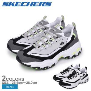 (40%以上OFF) スケッチャーズ スニーカー メンズ ディライト SKECHERS 52675 ホワイト 白 ブラック 黒 グレー 靴 シューズ スポーティ 厚底|z-craft