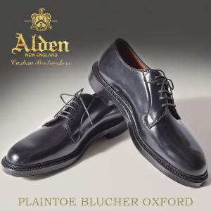 ■ITEM オールデンより「PLAIN TOE BLUCHER OXFORD」です。 ALDENの代...