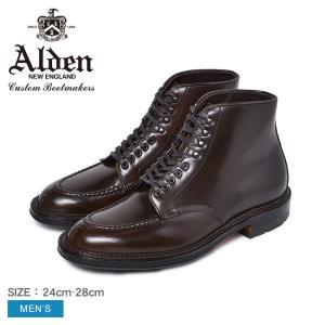 ALDEN オールデン ドレスブーツ メンズ BOOT CIGAR CORDOVAN M9901HC...