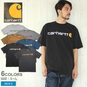 【メール便可】CARHARTT カーハート 半袖Tシャツ メンズ ショートスリーブ ロゴ Tシャツ RN14800 K195 z-craft