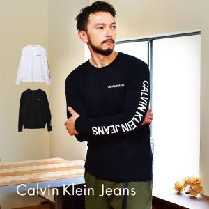 (メール便可)カルバンクラインジーンズ 長袖Tシャツ メンズ エッセンシャル INSTIT CALV...