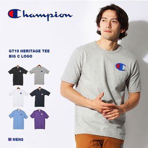 【メール便可】CHAMPION チャンピオン GT19 HERITAGE TEE BIG C LOG...