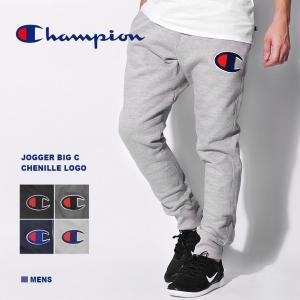 CHAMPION チャンピオン パンツ メンズ JOGGER BIG C CHENILLE LOGO YO7475|z-craft