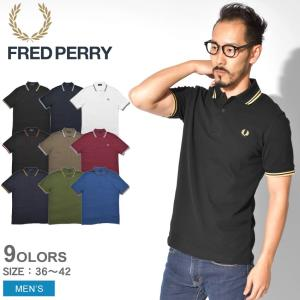 【メール便可】フレッドペリー FRED PERRY ポロシャツ M12 ツインティップド 半袖ポロシャツ メンズ シンプル 鹿の子|z-craft