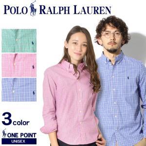 ポロ ラルフローレン メンズ POLO RALPH LAUREN BOYS ボーイズ ワンポイント チェック ボタンダウンシャツ 長袖  レディース|z-craft