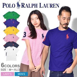 【メール便可】POLO RALPH LAUREN ポロ ラルフローレン 半袖Tシャツ ビッグ ポニー Tシャツ 323-703646 メンズ レディース