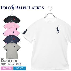 (ゆうパケット可) ポロ ラルフローレン 半袖Tシャツ メンズ レディース BIG PONY コット...