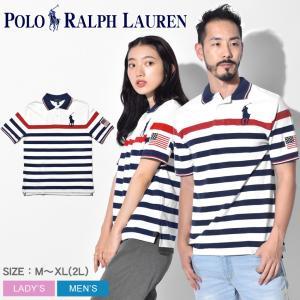 POLO RALPH LAUREN ラルフローレン ポロシャツ メンズ レディース ビッグポニー 323742630 半袖 ボーダー トップス|z-craft