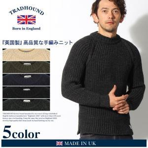 トラッドハウンド TRADHOUND クルーネック セーター メンズ