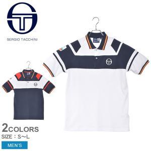 【メール便可】セルジオタッキーニ ポロシャツ 半袖 COSETTE MONTE CARLO 038165 メンズ トップス SERGIO TACCHINI|z-craft