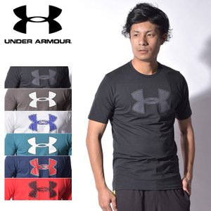 (期間限定価格!) アンダーアーマー UNDER ARMOUR Tシャツ ビッグロゴ 半袖Tシャツ メンズ 海外モデル