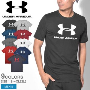 【メール便可】UNDER ARMOUR アンダーアーマー 半袖Tシャツ メンズ SPORTSTYLE LOGO SS 1329590