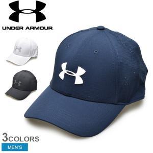 low priced d715d f0755 アンダーアーマー キャップ メンズ 帽子 UAドライバー3.0 1328670 ゴルフ ヒートギア スポーツ ストレッチ フィット 通気性 速乾性  ロゴ ブランド