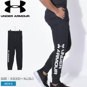 アンダーアーマー パンツ メンズ UAスポーツスタイル コットン グラフィックジョガー UNDER ARMOUR 1329298 ブラック 黒 ズボン z-craft