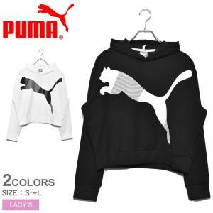 PUMA プーマ パーカー モダン スポーツ フーディ 582298 レディース プルオーバー スウ...