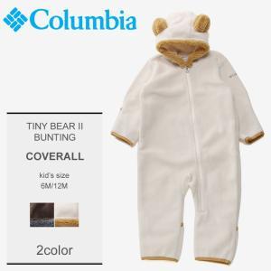 コロンビア COLUMBIA ロンパース タイニーベアII バンティング フリース ベビー キッズ|z-craft